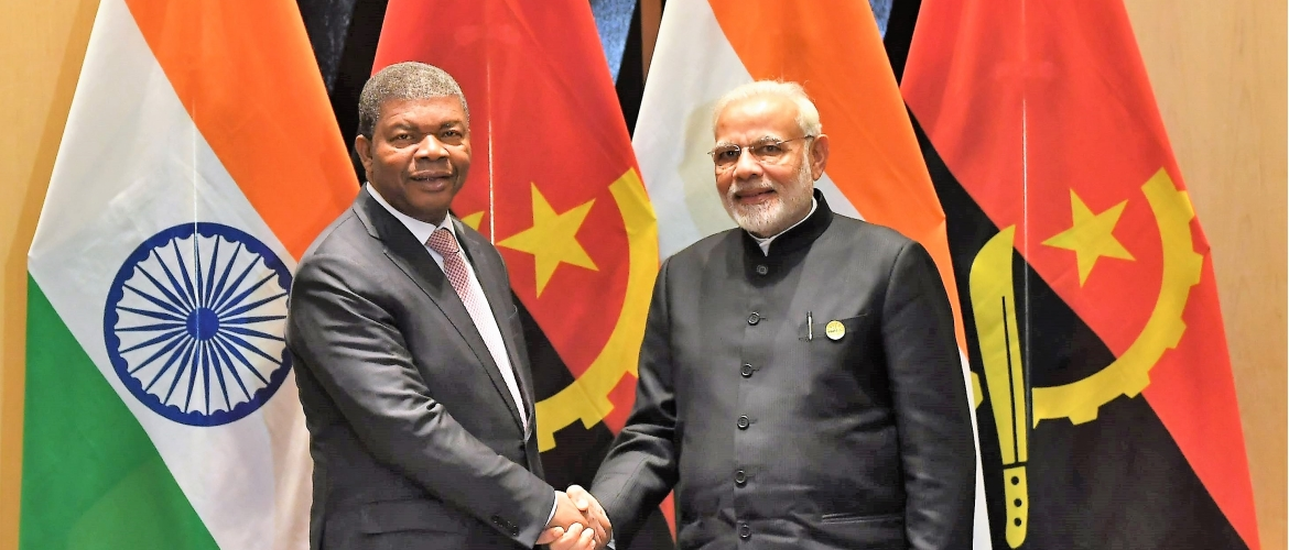President of Angola during Tenth BRICS Summit in South Africa (July 26, 2018)