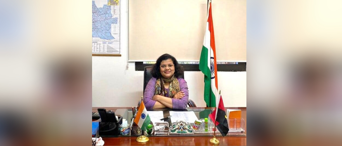 Ms. Pratibha Parkar took over the charge as the Ambassador of India to the Republic of Angola